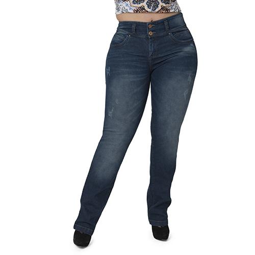 Maya Straight high waist (PLUS SIZE)