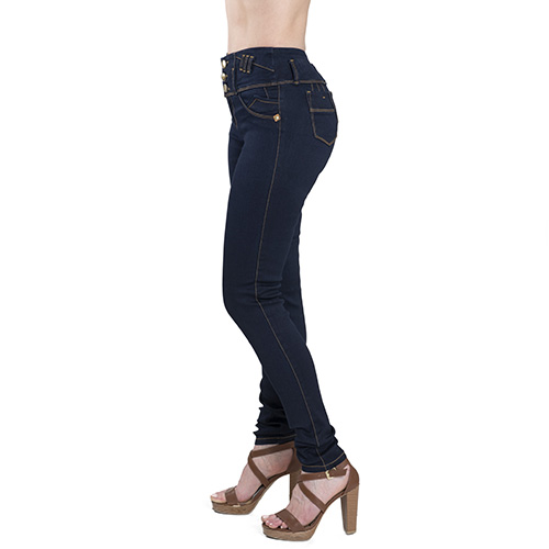 c0b61ad7684 DORI SKINNY HIGH WAIST DARK WASH